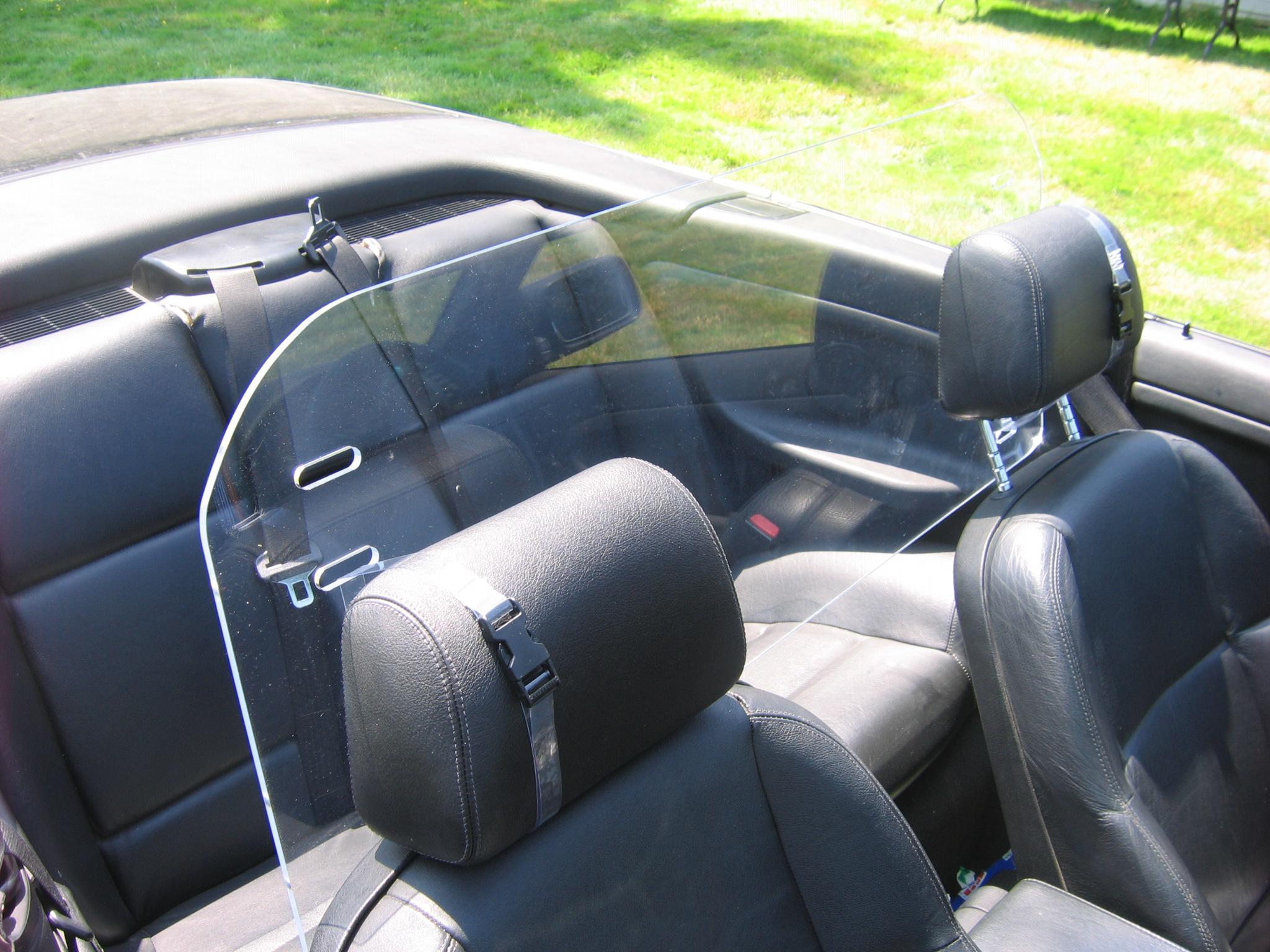 Best BMW 3 Series Windscreen Windblocker Wind Deflector | eBay