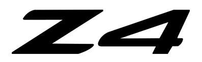 BMW Z4 2002-2008 Windscreen Etch