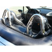 BMW Z3 Chrome Roll Hoops